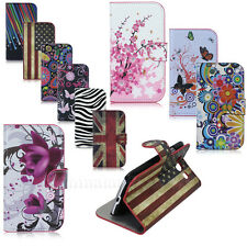 Cute Stand Leather Wallet Pouch Hard Case Cover For Samsung Galaxy S3 SIII i9300