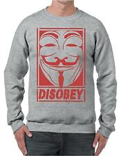 DISOBEY SUPREME OBEY MENS SWEATSHIRT JUMPER SWEATER