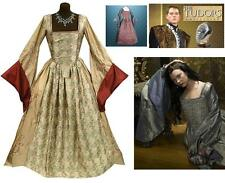 Anne Boleyn Gown in Silver or Gold Queen Of England Dress Perfect Stage Costume