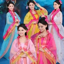 Noblest Chinese Traditional Women Clothing Evening Dress Classical Dance Dress