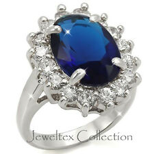 18K GP Kate Middleton Inspired  Engagement Ring With Simulated Diamonds. AL389