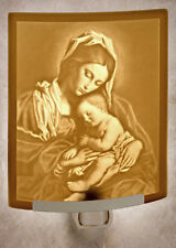 Madonna & Child Lithophane Night Light or Lamp