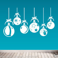 CHRISTMAS DECORATION NEW DIY DECO DECAL STICKERS SHOP WINDOW XMAS WALL Design 02