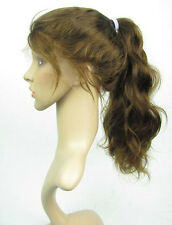 4# body wave 100% indian remy human hair full/front lace wigs -high ponytail