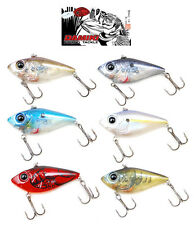 "DAMIKI TREMOR 80 NOISY LIPLESS CRANKBAIT 3 1/8"" various colors"