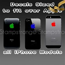 Apple Logo Skin Sticker Decal Vinyl Film for iPhone 3 4 4S 5 5C 5S COLOR CUSTOM