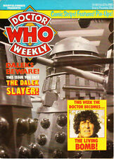 Rare: Dr Doctor Who Weekly numbers 2 to 43.  Good price, good condition.
