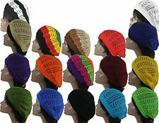 Womens Fashion Crochet Beanie Hat Knit Beret Skull Cap Tam