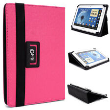 """Kroo Pink Universal Adjustable Folio Stand Cover for 9.7"""" Tablets & E-Readers"""