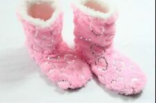 Women's Glitter Shinning Christmas Shoes Sock Slippers Indoor Boots XMAS Gifts