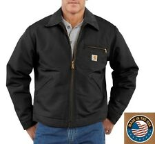Carhartt J001 Men's Duck Detroit Jacket - Blanket Lined