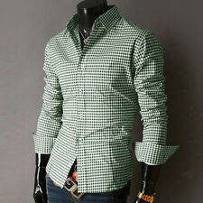 2013 New Mens Luxury Casual Slim Fit Stylish Long Sleeve Dress Shirts In 6 color