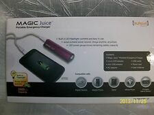 Magic Juice 3000 mAh Portable Device, Tablet and Phone Charger with Travel Case