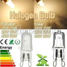 G9 230V 18W 25W 28W 35W 40W 50W Clear Frosted Halogen Lighting Lights Bulb Lamps
