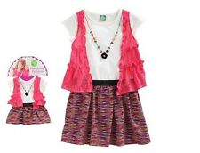 NWT Dollie & Me Girl 4-7 and Doll Matching Pink Dress Outfit fit American Girls