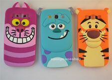 Cute cat Cartoon Sulley Silicone soft Case cover for Samsung Galaxy S3 III i9300