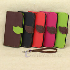 New Leather Flip Stand Wallet Soft Case Cover For Samsung Galaxy Note 2 II N7100
