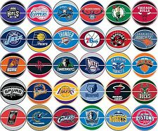 NBA Prismatic stickers gumball stickers your choice of teams available
