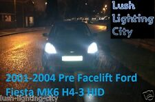 FORD FIESTA MK6 pre LIFTING H4-3 Hi / Lo Xenon HID Conversione Kit 100% FIT 35W
