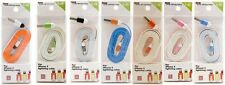 3-Tone Color Noodle USB Data Cable for iPhone 5