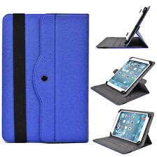 """10"""" DB Rotaing Universal Adjustable Folio Stand Cover for Tablets & E-Readers"""