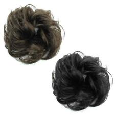 HAIR SCRUNCHIE PONY TAIL EXTENSION WRAP BUN HAIR PIECE CURLY BUN FASHION