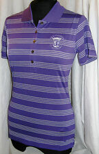New '13 Nike Golf Ladies Tech Stripe Polo Shirt With Old Course St. Andrews Logo