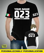 T-shirt customizable CROSSFIT GAMES con numero nome nazione personalizzabili