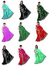 NW Partywear Sequin Embroidery Sari Saree Bellydance Curtain Drape Panel Fabric