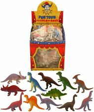 ASSORTED MINI DINOSAUR FIGURE KIDS LOOT GOODY PARTY BAGS PINNATA FILLERS TOYS