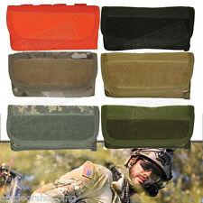 "Tactical Hook & Loop Ammo Closure Pouch - MOLLE, Drain Grommet, 7.25"" x 3.75"""