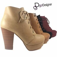 NEW Womens Shoes Military Combat Boots Mid Calf Riding Lace Up Buckle Zipper