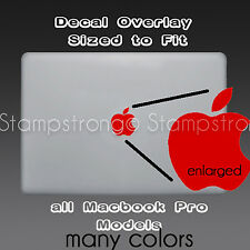 Apple Logo Skin Sticker Decal Vinyl Film for MACBOOK PRO Mac Book LAPTOP CUSTOM