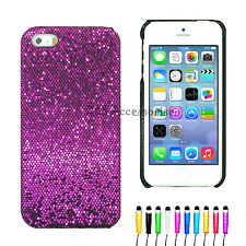 SPARKLING GLITTER BLING CASE COVER FOR IPHONE 4/4S 5/5S 5C & 6/6 Plus