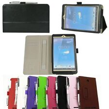 High Quality Hand Strap Leather Case Cover For Asus MeMo Pad 8 ME180A HD 8 + Pen