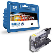 1 COMPATIBLE BROTHER DCP MFC BLACK PRINTER INK CARTRIDGE LC1220 / LC1240