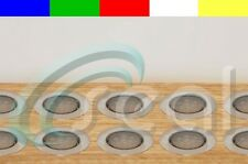 """10 x 2-3/8"""" Deck, Decking, Porch, Yard, Garden Recessed LED Lights - 5 Colors"""