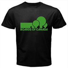 BOARDS OF CANADA  Music BoC Custom Mens Black T shirt T-shirt S - XXXL S - 3XL