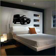 XL Large Car 4x4 Land Rover Defender Trial Bedroom Free Squeegee! Wall Art Decal
