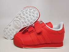 NEW ADIDAS ORIGINALS BABY SAMOA CF I  TODDLERS  [D74132]  POPPY//POPPY-WHITE
