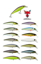 "JACKALL SQUAD MINNOW 95 SUSPENDING JERKBAIT 4"" choose colors"