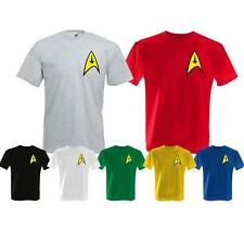 MENS KIDS STAR TREK LOGO SCI FI TV SERIES MOVIE FILM UNISEX T SHIRT SIZES S-2XL