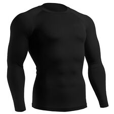 mens womens Winter Thermal under COMPRESSION armour tight shirts baselayer Top