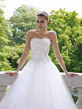 new Bride Bridesmaid Wedding Gown Prom Ball Evening Dress Size 6-8-10-12-14-16