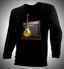 GIBSON LES PAUL & MARSHAL MODERN VINTAGE AMP T-SHIRT - RARE, EXCELLENT!!!