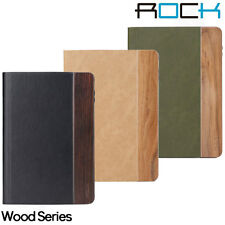 Genuine ROCK Wood Series Case and Stand for Apple iPad Air