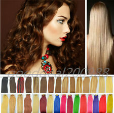 """★ 6Pcs 27 More Color★ Remy Real HUMAN HAIR CLIP IN EXTENSION ,20"""" 30g & 12"""" Wide"""