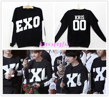 EXO Miracles in December XIUMIN LUHAN SEHUN KRIS BLACK SWEATER HOODIE KPOP NEW