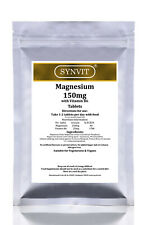 SYNVIT® Magnesium Citrate 125mg with Vitamin B6