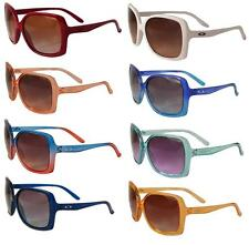 OAKLEY BECKON LADIES SUNGLASSES CHOICE OF COLOURS BIG BOLD PROTECTION  NEW